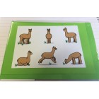 Alpaca Greeting Cards - Comical Camelid Collection
